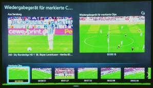 Samsung Football Mode © COMPUTER BILD