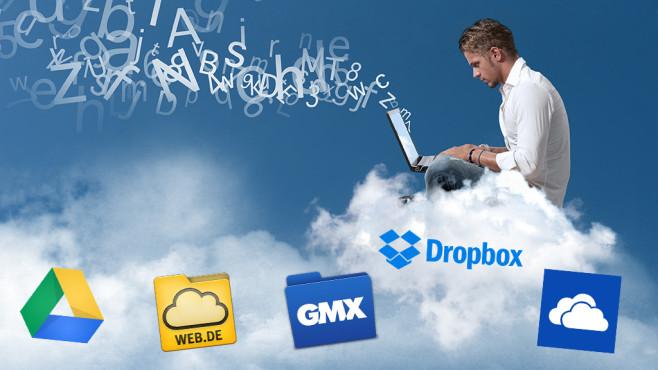 Fünf Cloud-Apps im Test©COMPUTER BILD