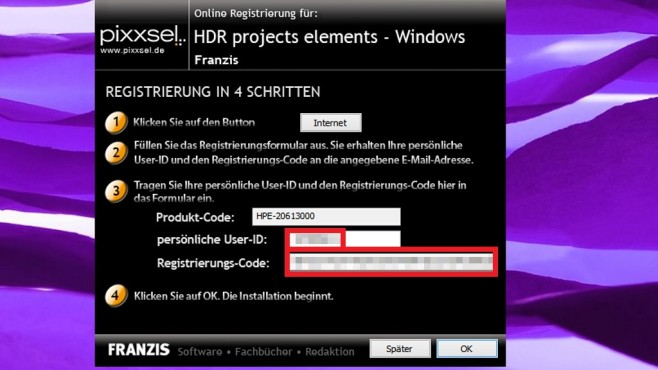 HDR Projects Elements: Tipps zur Installation © COMPUTER BILD