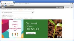Kostenlose Vorlagen für Microsoft Office
