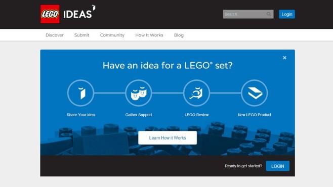 Lego-Ideas-Webseite©Lego Ideas / COMPUTER BILD