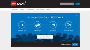 Lego Ideas Webseite©Lego Ideas / COMPUTER BILD