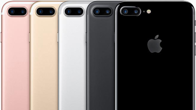 Apple iPhone 7 Plus (Platz 14 in der Bestenliste) © Apple