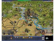 Sid Meier's Civilization 4: Höhere Entwicklungsstufe: Bis die erste Stadtmauer steht werden einige Spielstunden vergehen.