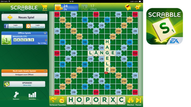 Scrabble © Electronic Arts