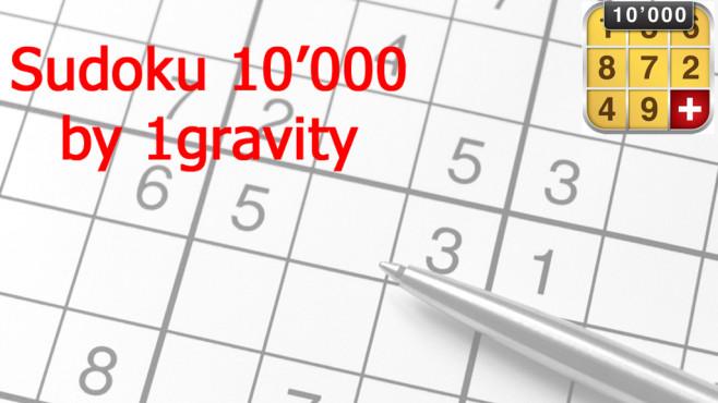 Sudoku 10.000 Plus ©1gravity