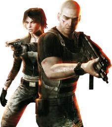 Tom Clancy's Splinter Cell – Double Agent: Agent Sam Fisher und Terroristin Erica sind ein gutes Team.