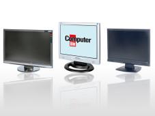 Der richtige Bildschirm in jeder Größe Beim PC-Flachbildschirm kommt es nicht nur auf die Größe, sondern auch auf die Bildqualität, an.