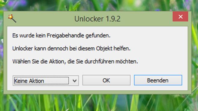 Unlocker: Beliebtes Löschprogramm©COMPUTER BILD