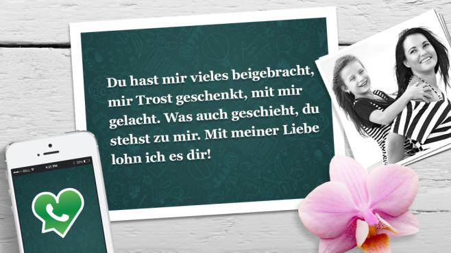 Die schönsten WhatsApp-Sprüche zum Muttertag ©WhatsApp, Alena Ozerova - Fotolia.com, Apple