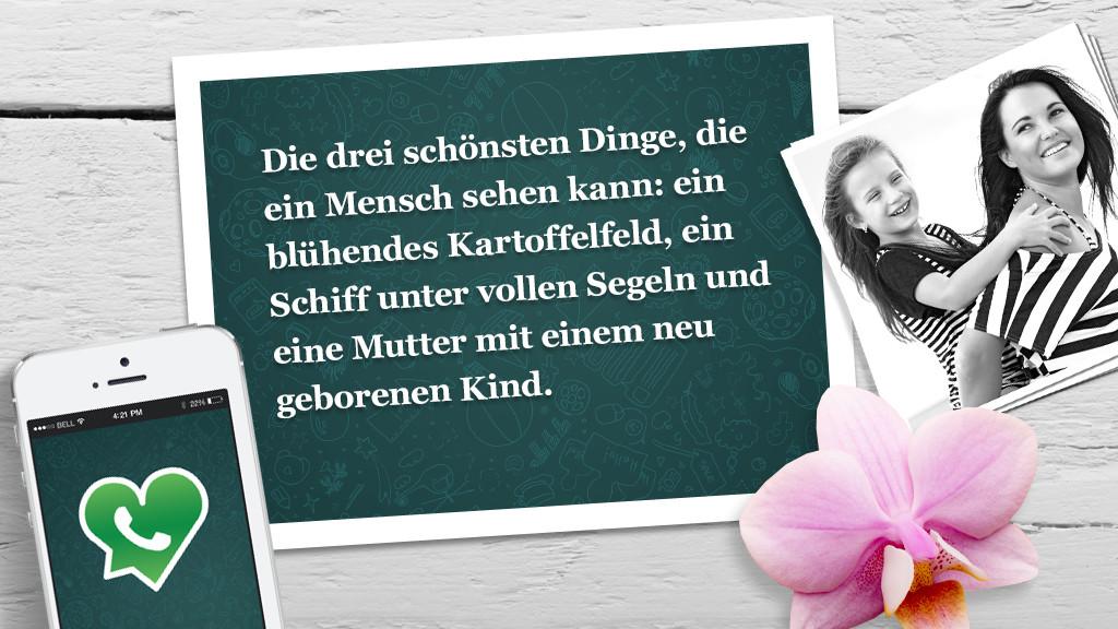 Lieb Bis Frech: WhatsApp-Sprüche Zum Muttertag