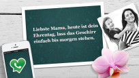 Muttertag: Die lustigsten und schönsten WhatsApp-Sprüche©WhatsApp, Alena Ozerova - Fotolia.com, Apple