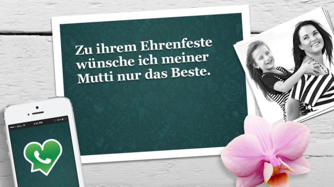 Muttertag: Die schönsten WhatsApp-Sprüche ©WhatsApp, Alena Ozerova - Fotolia.com, Apple