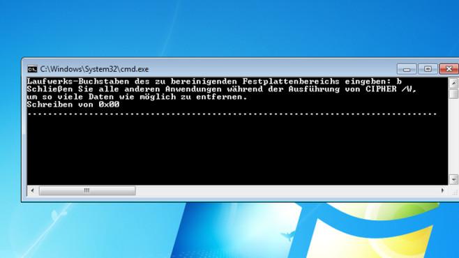 Bereits gelöschte Dateien nachträglich sicher löschen ©COMPUTER BILD