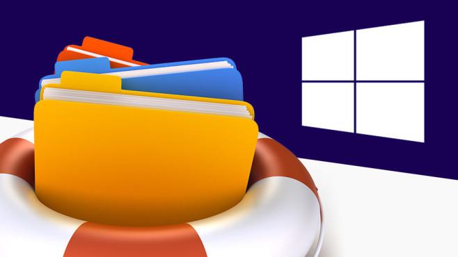 FritzBox-Festplatte für Windows-Datensicherung ©Microsoft, COMPUTER BILD