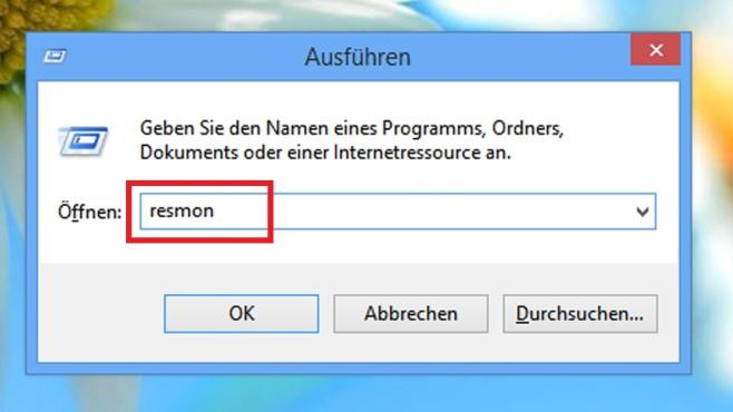 Gesperrte Dateien löschen per Ressourcenmonitor ©COMPUTER BILD