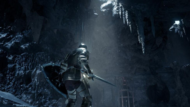 Deep Down: Eis © Capcom