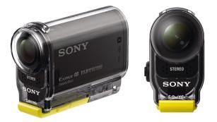 Sony HDR-AS30V mit Gehäuse©Sony