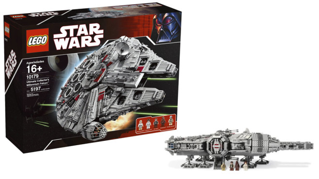 LEGO Star Wars 10179 - Ultimatives Millenium Falcon Sammlermodell © Lego