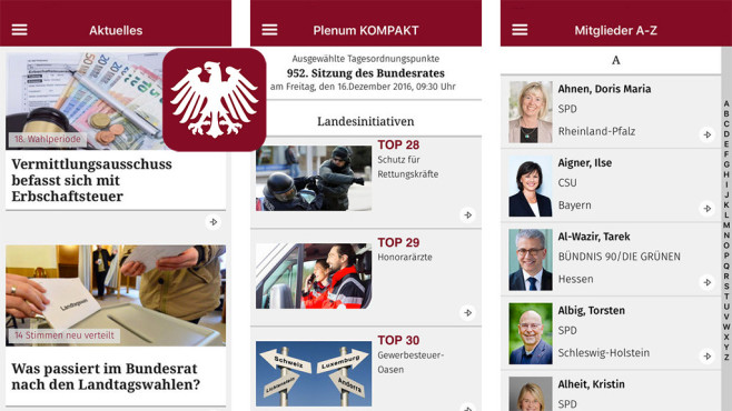 Bundesrat © Bundesrat Germany