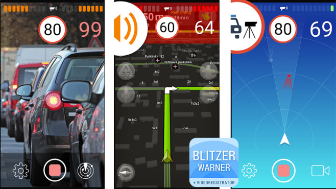 Smart Driver – Blitzerwarner © AIRBITS & Reactive Phone
