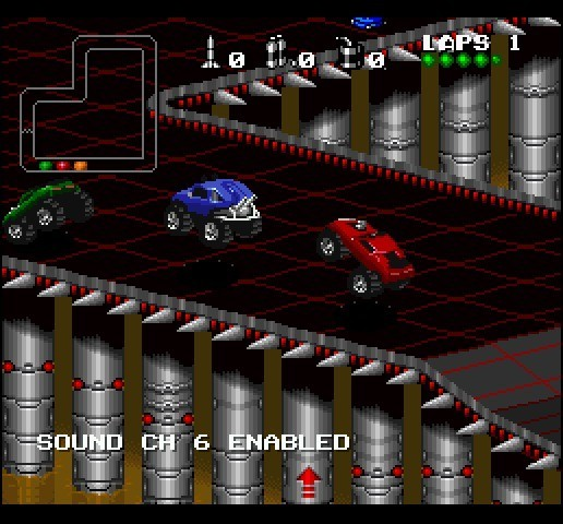 Screenshot 1 - Rock N' Roll Racing