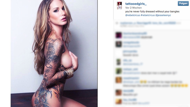 Tattooed Girls © Tattooed Girls