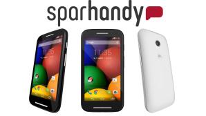 Motorola Moto E f�r 1 Euro©Sparhandy, Motorola