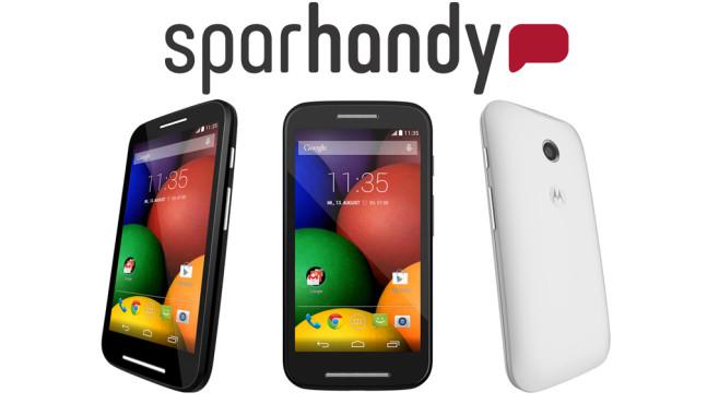 Motorola Moto E für 1 Euro©Sparhandy, Motorola
