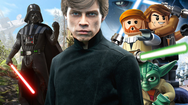 Star-Wars-Spiele © EA, Warner Games