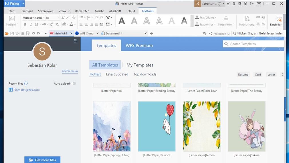 Kostenloser Ersatz für Microsoft Office: Alternative Gratis–Programme