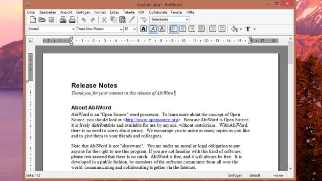windows 7 schreibprogramm