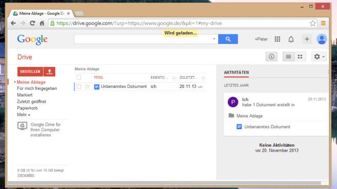 Google Docs: ©COMPUTER BILD