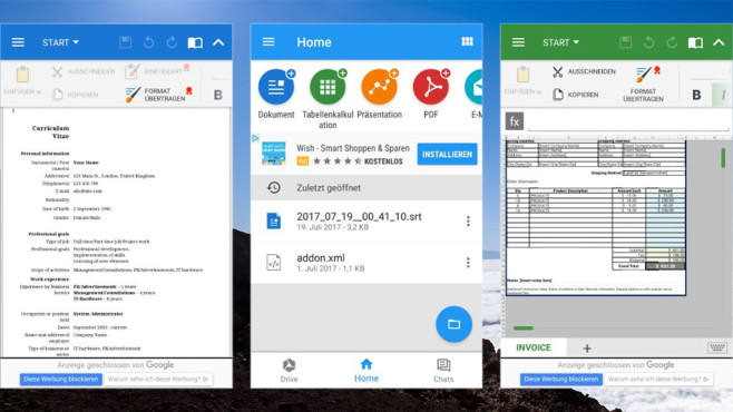 OfficeSuite & PDF Editor ©COMPUTER BILD, Mobile Systems