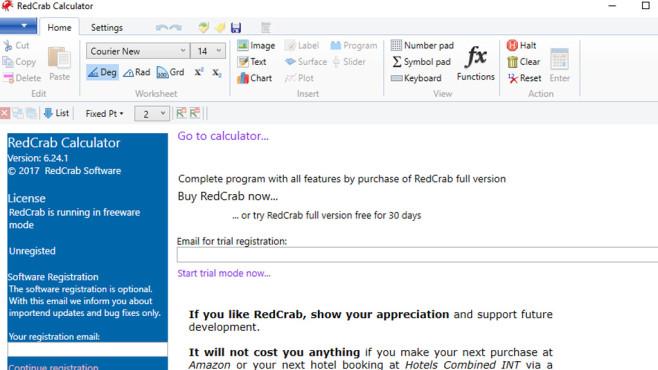 RedCrab Calculator: Rechnen ohne Excel ©COMPUTER BILD
