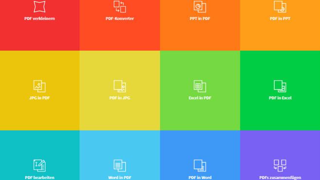 SmallPDF: PDFs erstellen und umwandeln ©COMPUTER BILD