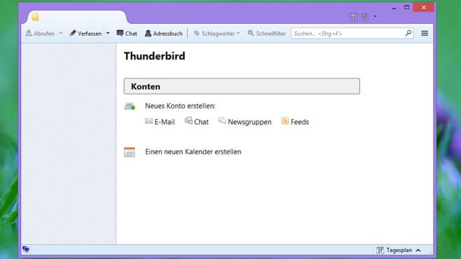 Thunderbird: Gut erweiterbares Mailprogramm ©COMPUTER BILD