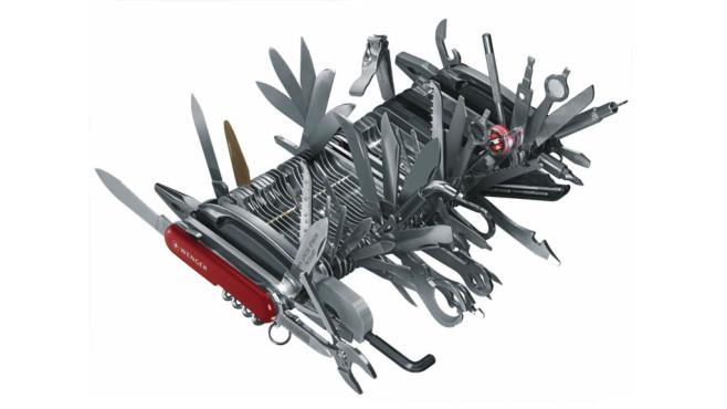 Wenger Riesen-Messer ©Wenger