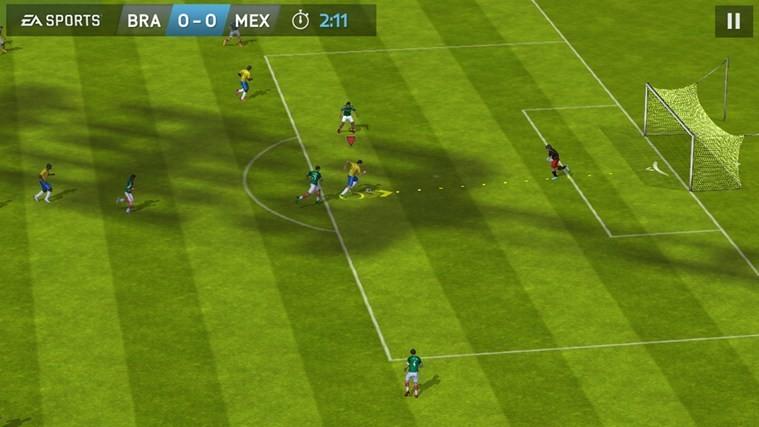 Screenshot 1 - FIFA 15: Ultimate Team (Windows-10-App)