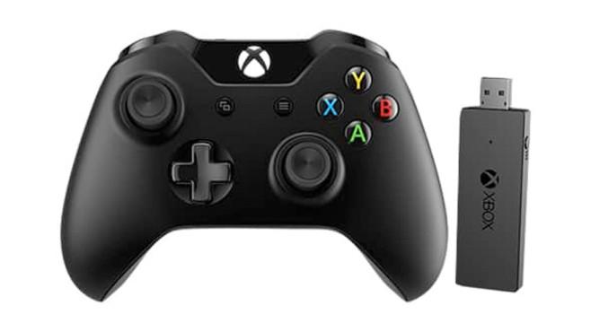 Xbox One Controller: Gamepad©Microsoft