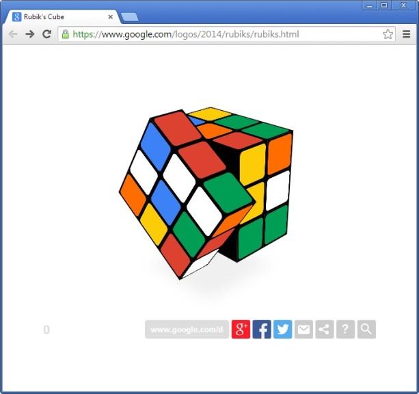 Screenshot 1 - Zauberwürfel online spielen