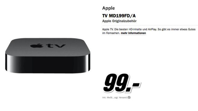 Apple TV 3 ©Media Markt