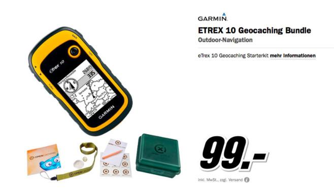 Garmin eTrex 10 ©Media Markt
