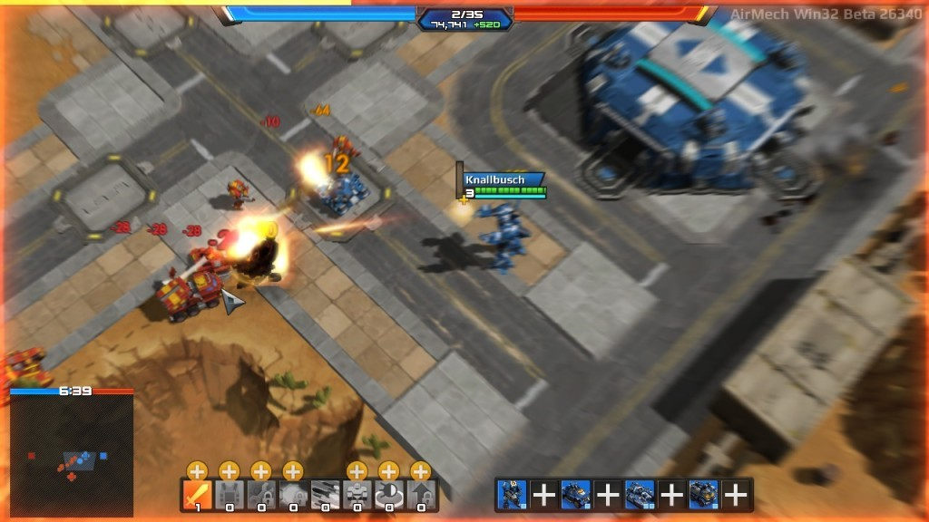 Screenshot 1 - AirMech