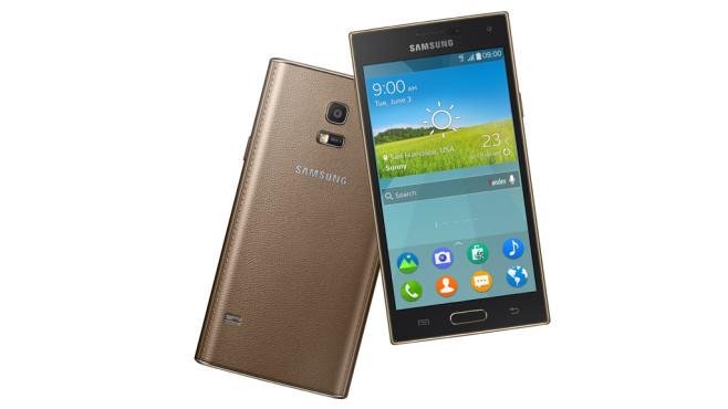Neues Spitzen-Smartphone Samsung Z: Tizen statt Android Das Samsung Z mit farbstarkem AMOLED-Display könnte Galaxy-Flaggschiffen Konkurrenz machen.©Samsung