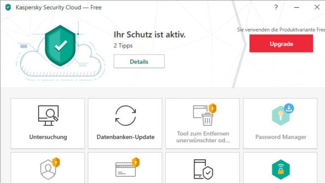 Alternative: Gratis-Antivirus von Avast, AVG, Avira, Bitdefender, Kaspersky ©COMPUTER BILD