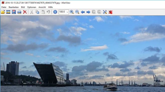 Alternative: Windows Fotogalerie ©COMPUTER BILD