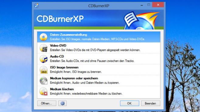 Alternativen: CDBurnerXP, Ashampoo Burning Studio – Kostenlose Vollversion ©COMPUTER BILD