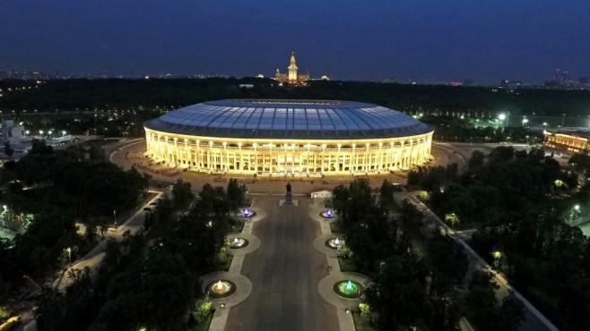 Luschniki-Stadion Moskau©Google Maps