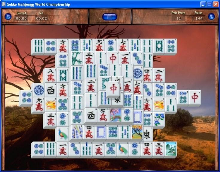 Screenshot 1 - Gekko Mahjongg